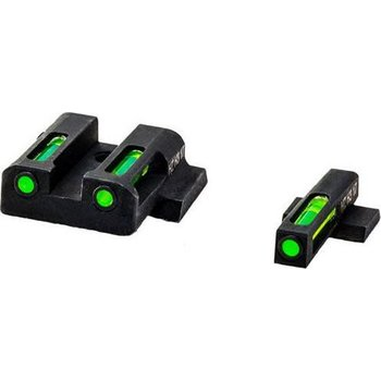 HIVIZ LiteWave H3 Smith &Wesson M&P Front & Rear Sight Set. Tritium Litepipe Technology.