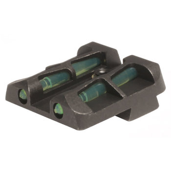 HIVIZ Litewave Interchangeable Rear Sight for Glock 9mm, .40 S&W, and .357 Sig.