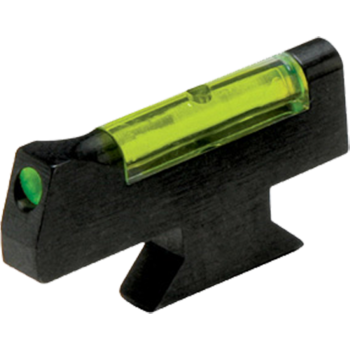 "HIVIZ Overmolded Green Front Sight for Smith & Wesson DX-style front sight revolvers.Fits Models with .250"" Sight Height"