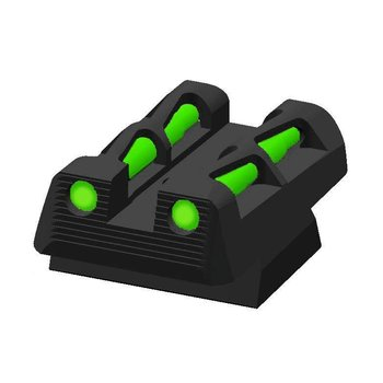 HIVIZ Litewave Rear Sight for CZ 75, CZ 83, CZ 85, CZ 97, and P-01