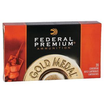 Federal Premium Gold Medal Match 223 Rem Sierra Matchking BTHP 69 Grain Ammunition