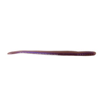 "Roboworm Fat Straight Tail Worm 4-1/2"" Oxblood Light Red Flake 8-pk"