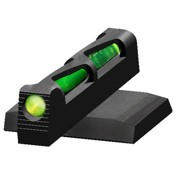 HIVIZ Litewave Front Sight Ruger American, Green