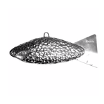 Shark Cannonball Trolling Weight. 17lb Extreme Chrome