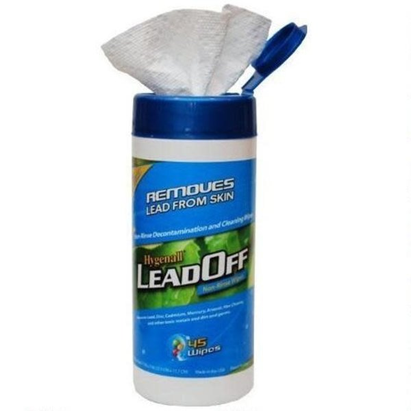 Hygenall LeadOff Wipes-45 wipes per canister
