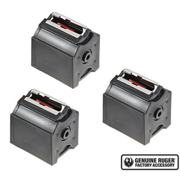 Ruger BX-1 10 Round Magazine Valuer 3 Pack