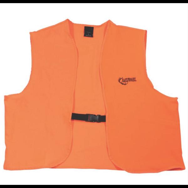 Backwoods Hunter Safety Vest, Blaze Orange, L