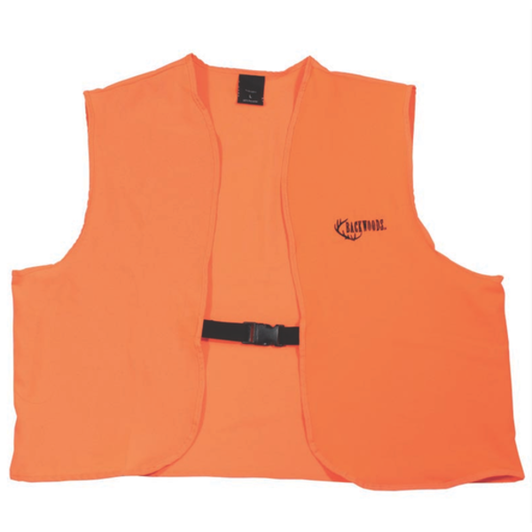 Backwoods Hunter Safety Vest, Blaze Orange, XXXL