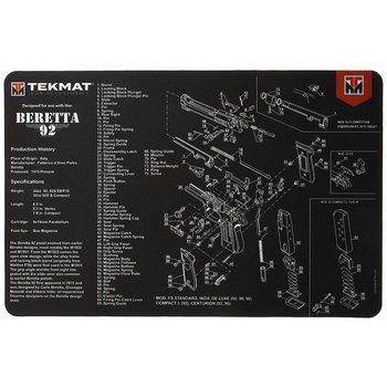 TekMat Gun Cleaning Mat, Beretta 92 / M9