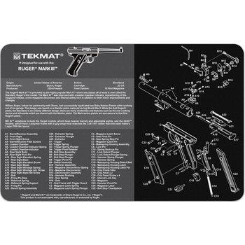 TekMat Gun Cleaning Mat, Ruger Mark III