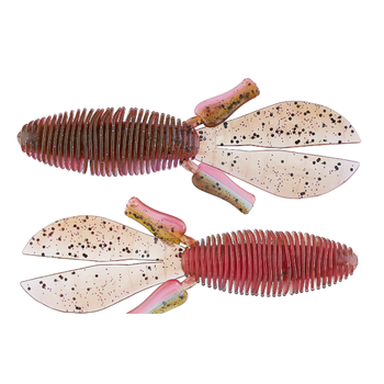 """Missile Baits D Bomb 4"""" Pink Belly 6-pk"""