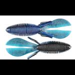 "Missile Baits Baby D Bomb 3.65"" Bruiser Flash 7-pk"