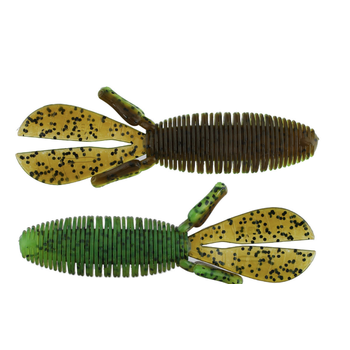 """Missile Baits Baby D Bomb 3.65"""" Dill Pickle 7-pk"""