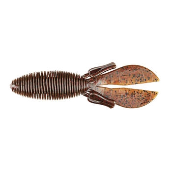 """Missile Baits Baby D Bomb 3.65"""" Green Pumpkin Red 7-pk"""