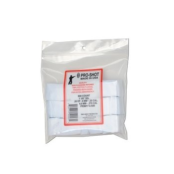"Pro-Shot Patches, 1-1/8"" Square 22-270, 500 Pack"