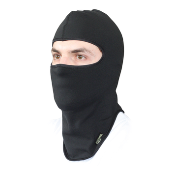 Backwoods Balaclava Black O/S