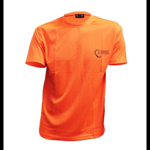 Backwoods T-Shirt, Blaze Orange, M