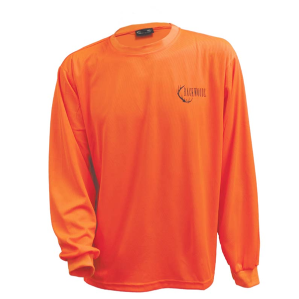 Backwoods Long-Sleeve Shirt Blaze Orange M