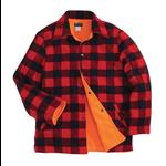 Backwoods Lumberjack Reversible Hunting Jacket, Red/Black Check, XXL