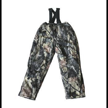 Backwoods Hunter Kid's Bib Pant, Pure Camo Vertical HD, M