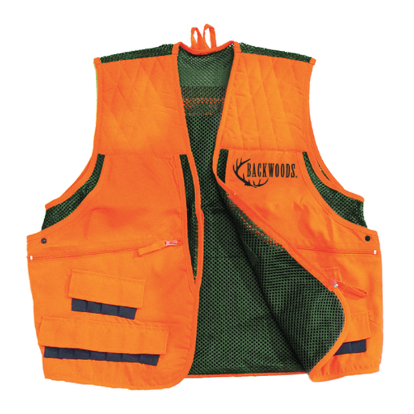 Backwoods Upland Game Vest Blaze Orange XXL