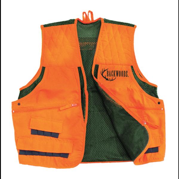 Backwoods Upland Game Vest Blaze Orange 3XL