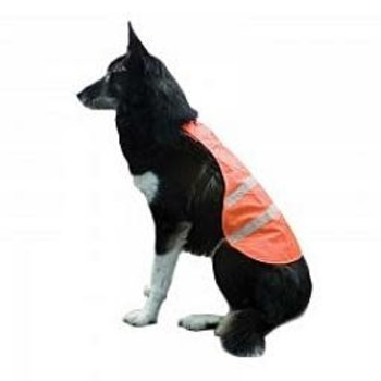 Backwoods Safety Dog Vest, Blaze Orange, S