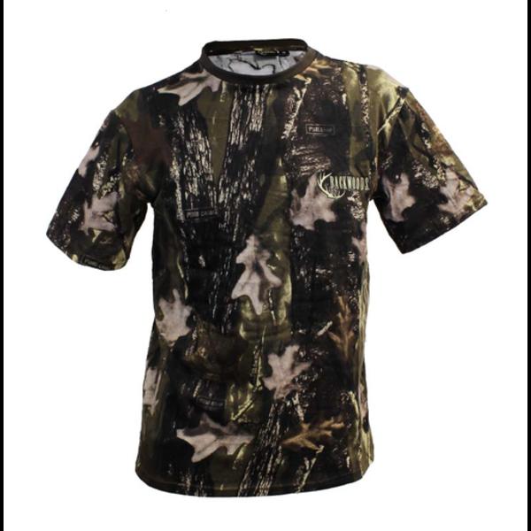 Backwoods T-Shirt, Pure Camo Vertical HD, L