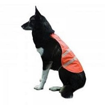 Backwoods Safety Dog Vest, Blaze Orange, XL