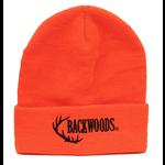 Backwoods Thinsulate Knit Touque Blaze Orange Backwoods Logo