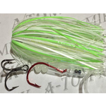 A-TOM-MIK Tournament Rigged Fly, Glow Sheep