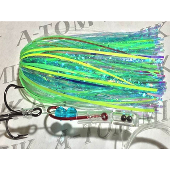 Tournament Rigged Fly, Hammer Lime Live