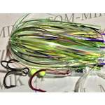 Tournament Rigged Fly, Big Fin Glow UV