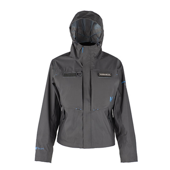 Hodgman Aesis Women's Shell Jacket, Charcoal/Black, S