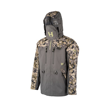 Hodgman H5 Storm Shell Jacket, Digi Camo/Charcoal, XXXL