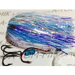 A-TOM-MIK Tournament Rigged Fly, Blue UV