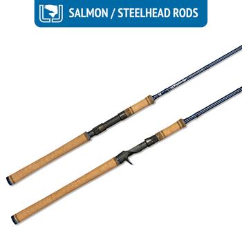 Luhr Jensen Legacy Salmon/Steelhead 10'6 Med Fast 8-17lb 3/8-3/4oz 2-pc