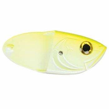 Luhr Jensen Cut Bait Head Chartreuse Glow 2-pk