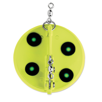 Luhr Jensen Dipsy Diver Size 1 UV Fluorescent Chartreuse Green