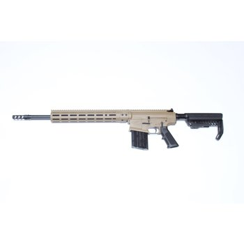 Black Creek Labs BCL 102 308 Win Non Restricted Semi Auto Rifle, Flat Dark Earth