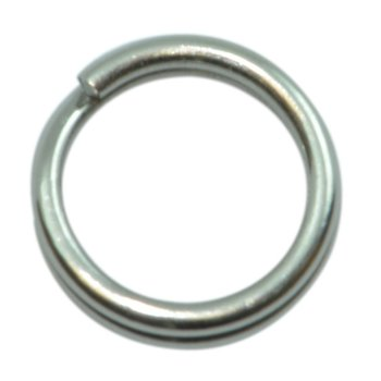 Spro Stainless Split Rings. Size 1 8lb 10-pk