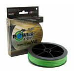 PowerPro Super8Slick V2 20lb Hi-Vis Aqua 150yd Spool