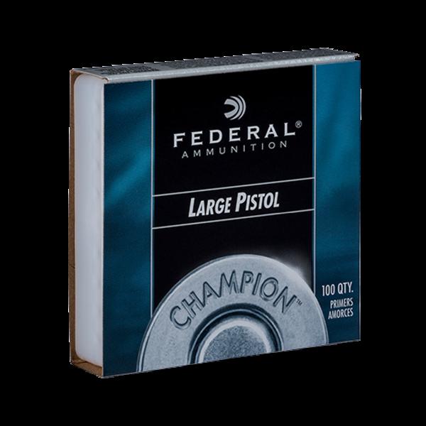 Federal  #150 Large Pistol Primers, 100 Per Box