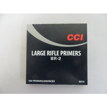 CCI BR-2 Large Rifle Primers, 100 Per Box