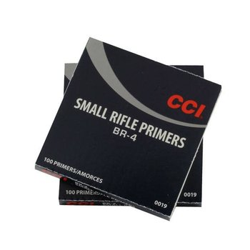 CCI Br-4 Small Rifle Primers, 100 Per Box