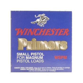 Winchester WSPM Small Pistol Magnum Primers,100 Per Box
