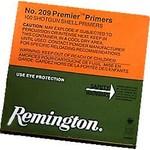 Remington #209 Premier Shotgun Primers, 100 per Box