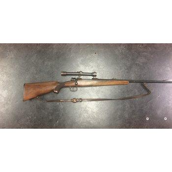 Mauser K98 8mm Mauser w/Zeiss Sniper Scope with QD Mounts