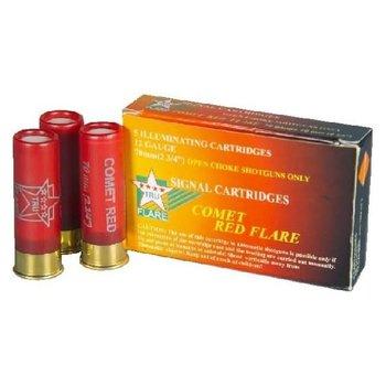 Tru Flare Red Comet Flares 12ga 6 Pk
