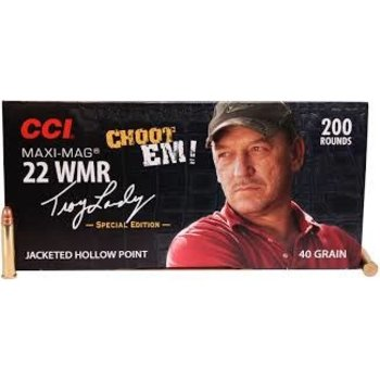 CCI 22 Win Mag Maxi Mag HP High Velocity Jacketed Hollow Point 40gr, 200 Round Choot Em Pack
